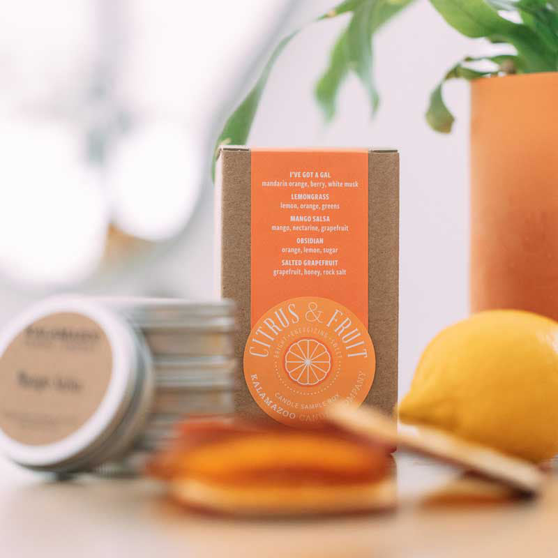 Citrus & Fruit Candle Sample Box