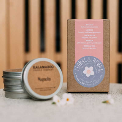 Floral & Herbal Candle Sample Box