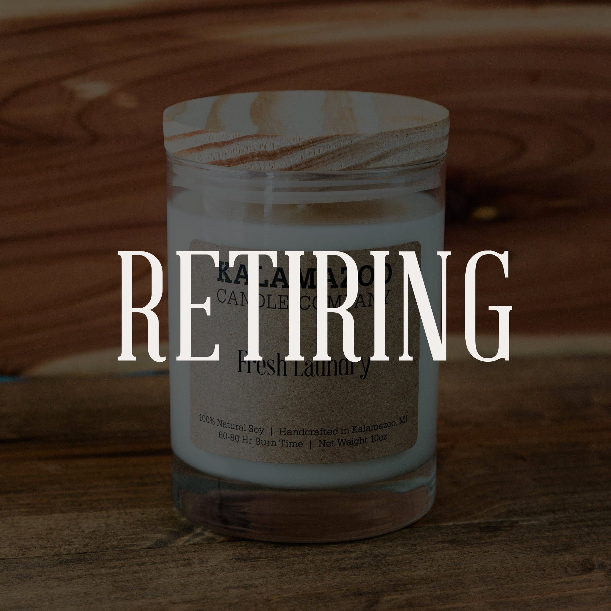 Fresh Laundry Candle: 10oz Jar