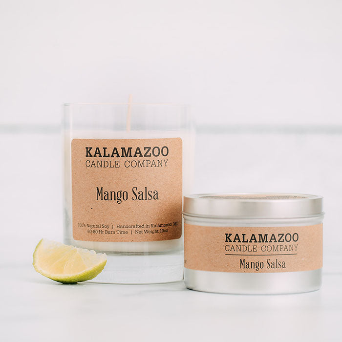 Mango Salsa Candles