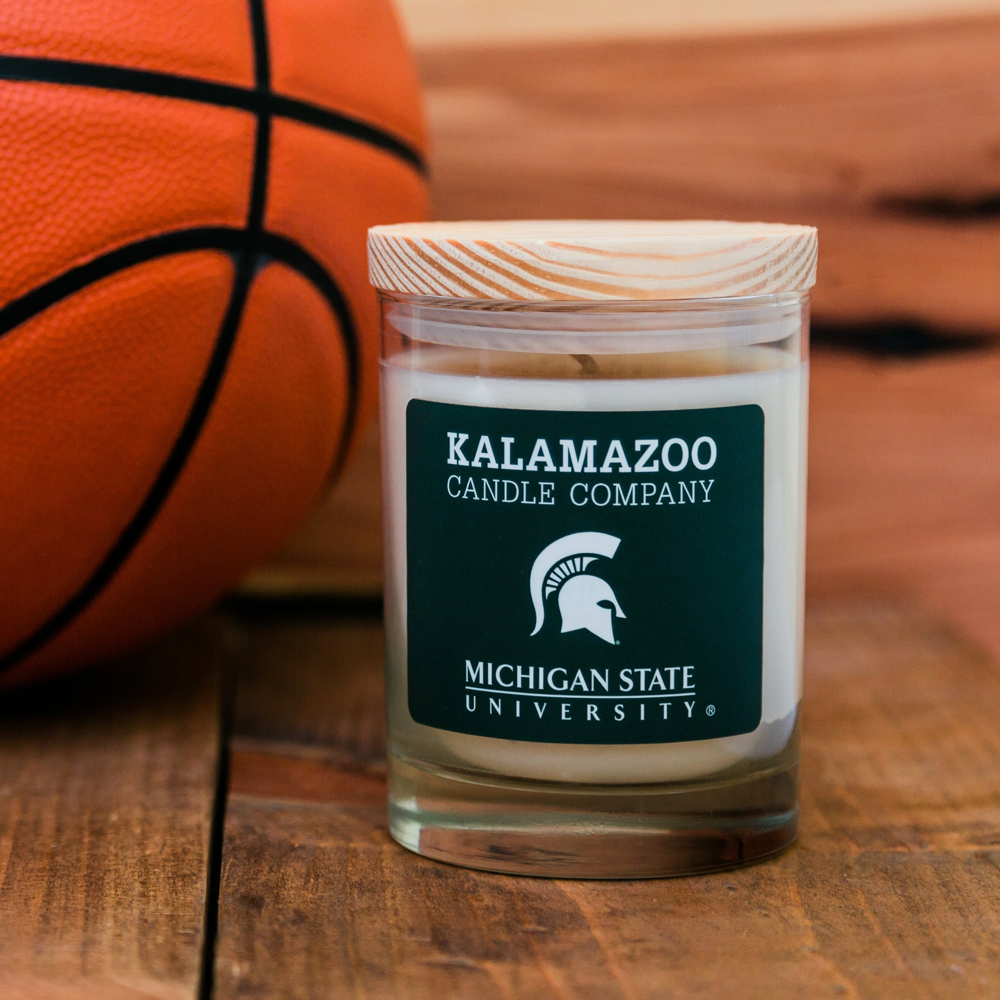 Michigan State University Candle: 10oz Jar