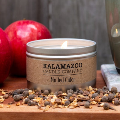 Mulled Cider Candle: 6oz Tin