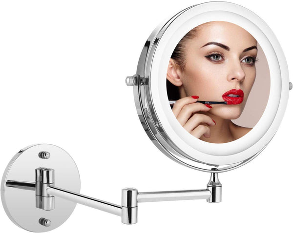Homdox Magnifying Makeup Mirror Wall Mirror 5X Magnification 7 inch