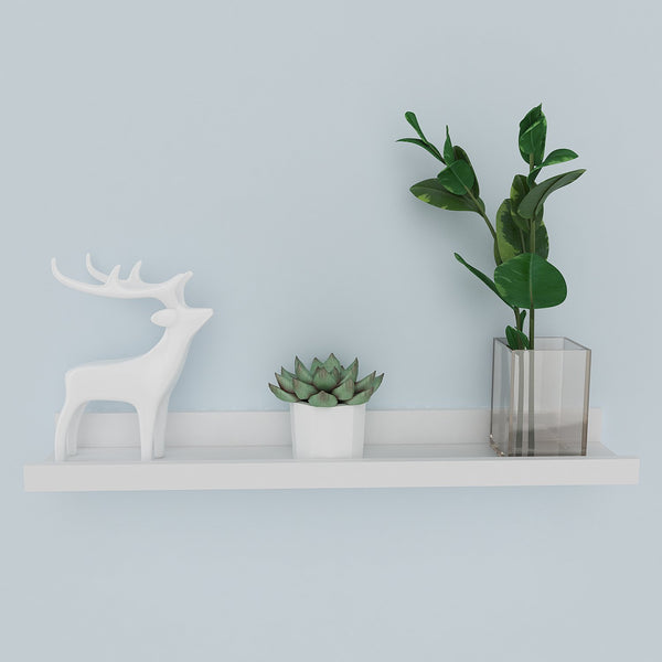 Homdox Industrial Wall Mount Floating Picture Ledge Shelf