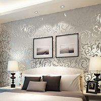 3D Damsk Wallpaper No Woven Wallpaper Home Decor Wallpaper for Bedroom