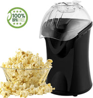 Popcorn Maker Machine 1200W Hot Air Popcorn Popper No Oil Needed (B)