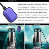 Homdox Sump Pump Submersible Water Pump Clean/Dirty Water Pool Pump,S