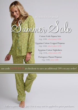 Save 20-40% during our Summer Sale