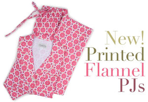 New flannel pajamas are here!