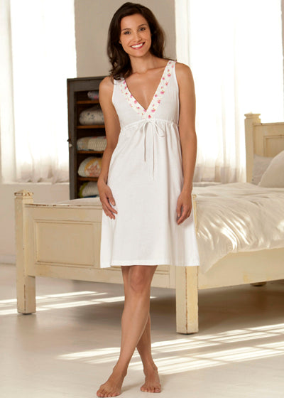 Liberty Trim Swiss Cotton Chemise