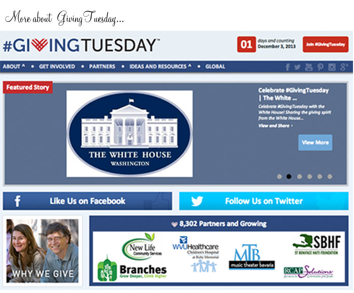 giving tuesday footer