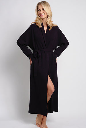 women's cashmere robe