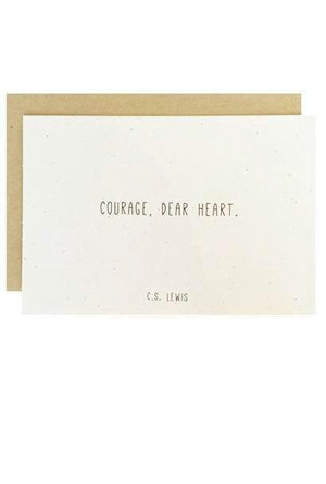 Courage, Dear Heart - C.S. Lewis