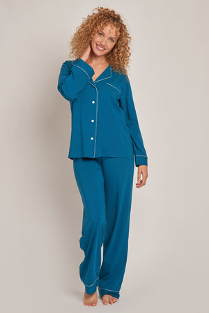 Organic Cotton Knit Pajamas