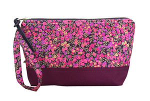 liberty of london cosmetic bag travel case clutch