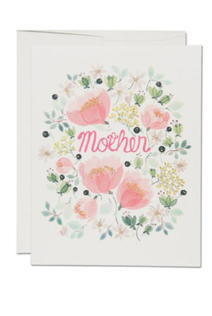 Wild Peonies Mother Card