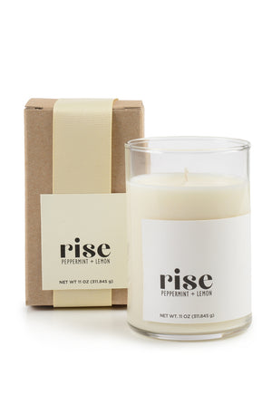 Lemon + Peppermint Rise Candle