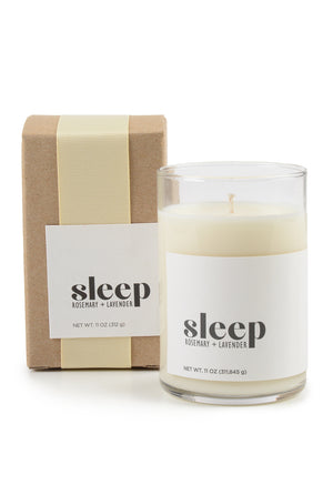 Lavender + Rosemary Sleep Candle
