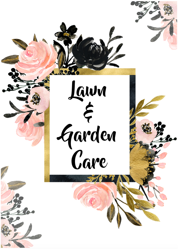Lawn and Garden Care Mini-Set (6 Pages)