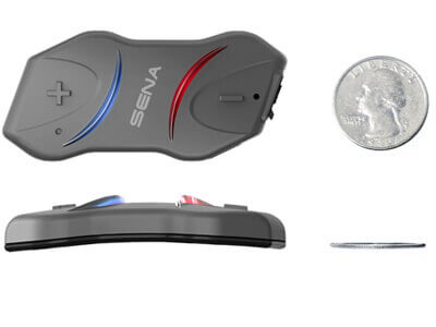 Sena 10R Dual Ultra Slim & High Performance Motorcycle Bluetooth Communication System