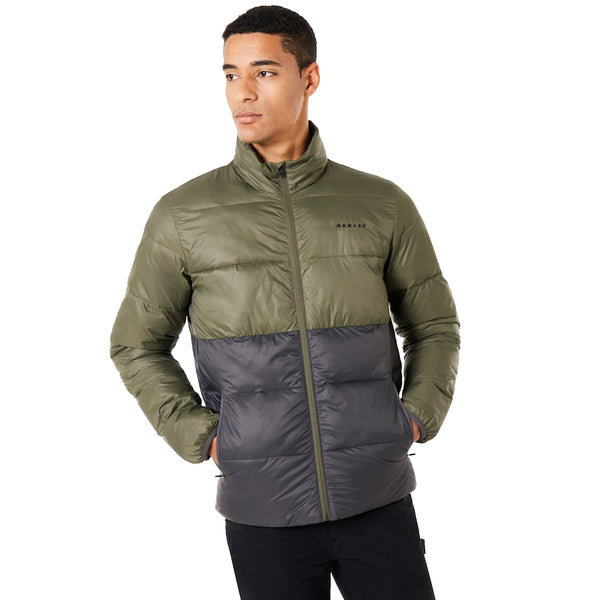 OAKLEY PUFFER BLOCK COLOR UTILITY JACKET MEN LIFESTYLE JACKET