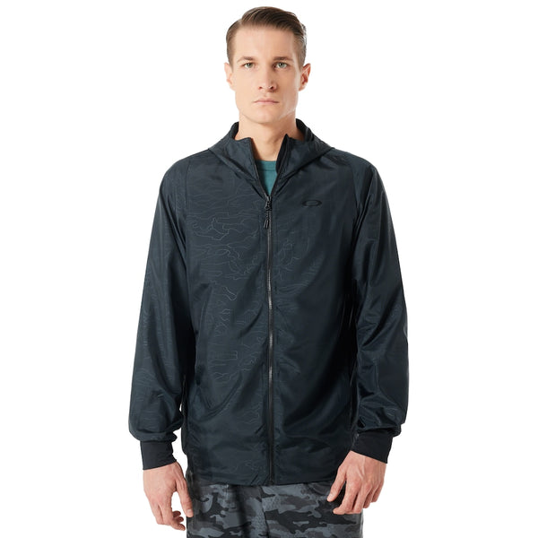 OAKLEY ENHANCE EMBOSS WIND JACKET MEN TRAINING JACKET