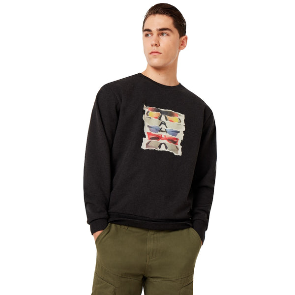 Oakley Sunglass Print Crewneck Men Lifestyle Sweatshirt