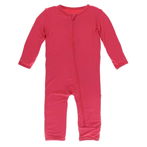 KicKee Pants Bamboo Solid Coverall with Zipper