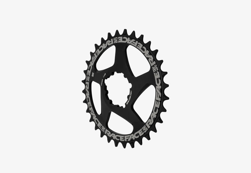 Race Face Chainring Direct Mount 3 Bolt Compatible Black Mtb Component