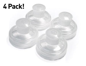 Amphipod Small Push-Pull Replacement Caps (4 Pack) - New Day Sports