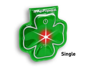 Amphipod Vizlet LED Shamrock Wearable Reflector (Single) - New Day Sports