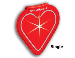 Amphipod Vizlet LED Heart Wearable Reflector (Single) - New Day Sports