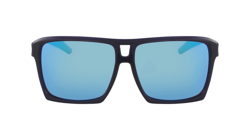 Dragon Alliance The Verse LL Ion Sunglasses Deep Navy Frame Blue Ion Lens