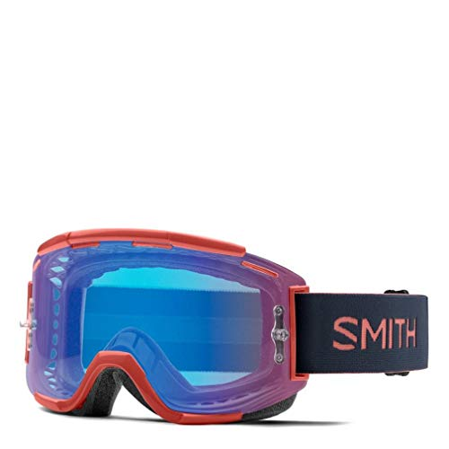 SMITH Squad MTB ChromaPop Goggle Red Rock/Contrast Rose Flash, One Size