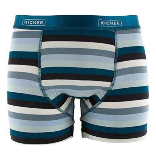 KICKEE Solid Men Bamboo Boxer Brief Underwear