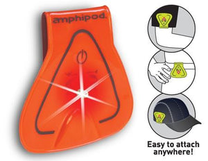 Amphipod Vizlet LED Triangle Wearable Reflector (Single) - New Day Sports