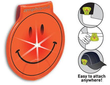 Load image into Gallery viewer, Amphipod Vizlet LED Smiley Wearable Reflector (Single) - New Day Sports