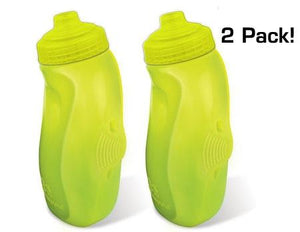Amphipod RunLite Xtech Bottles With Jett-Squeeze Caps (2 Pack) - New Day Sports