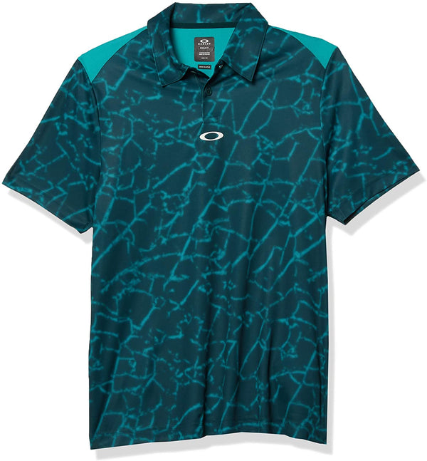 OAKLEY BROKEN GLASS POLO MEN GOLF POLO