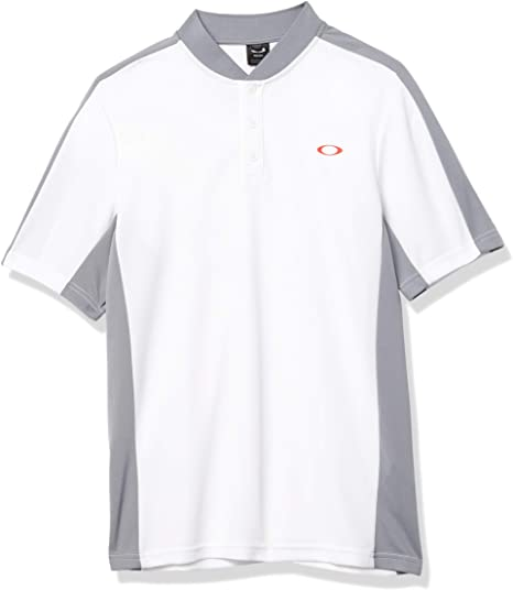Oakley Bomber Collar Piquet Polo Men Golf Polo Shirt