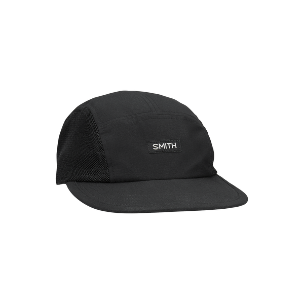 Smith Zephyr Mesh 5 Panel Adjustable Hat One Size Black Unisex Lifestyle Hat
