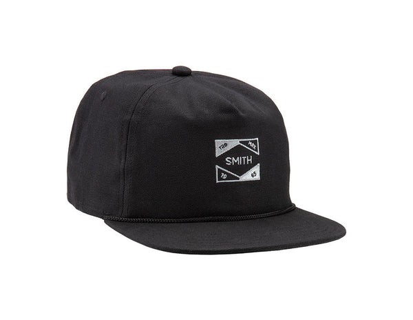Smith Tabor Adjustable Cap One Size Black Unisex Lifestyle Hat