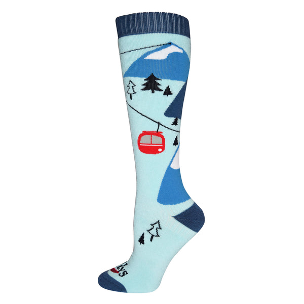 Hot Chillys Women's Gondola Mid Volume Sock