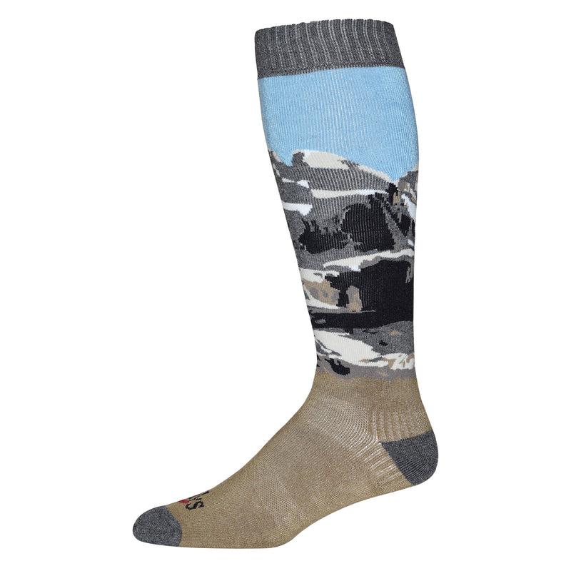 Hot Chillys Men's Scenic Mid Volume Sock