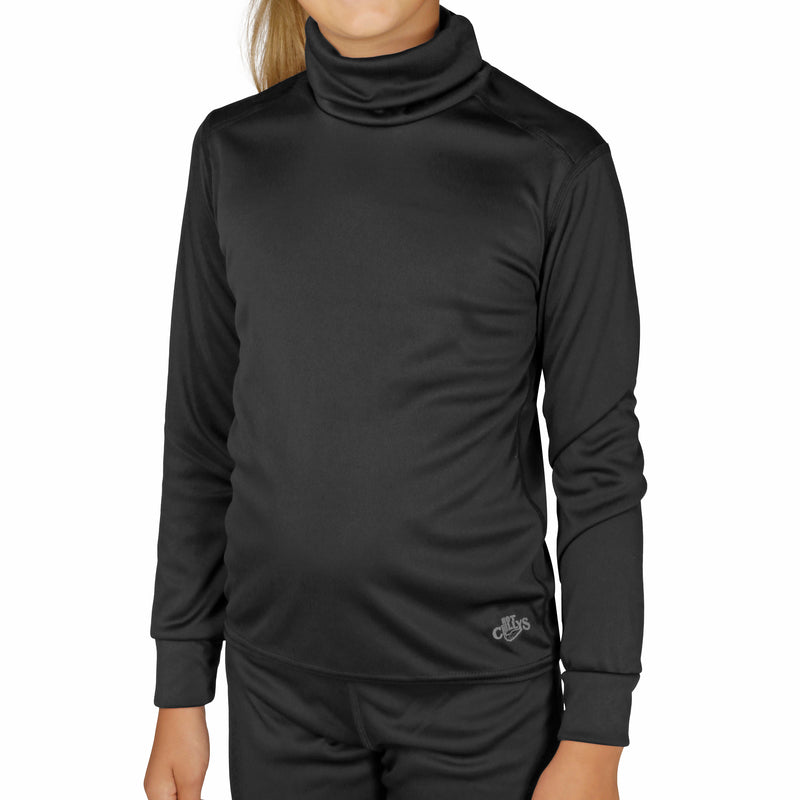 Hot Chillys Youth Peachskins Turtleneck