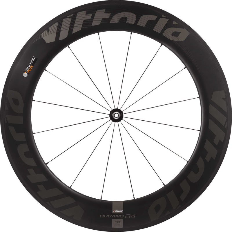 Vittoria Qurano 84 Carbon Tubular G+ Road Bike Wheel