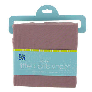Kickee Pants Solid Fitted Crib Sheet