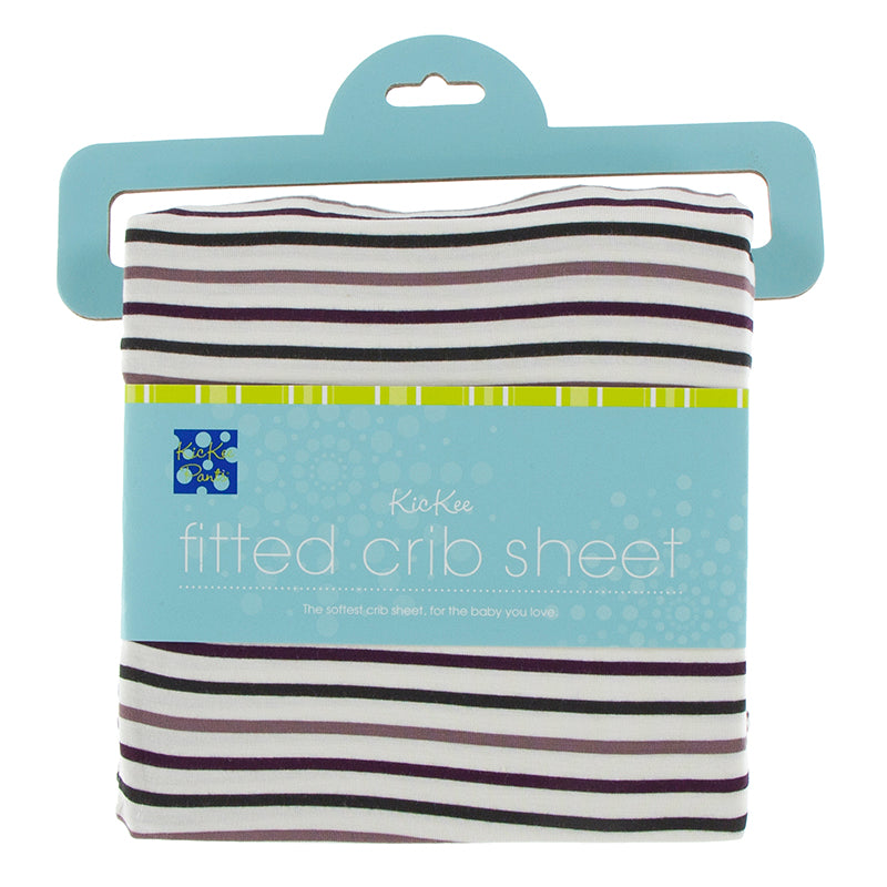 Kickee Pants Print Fitted Crib Sheet