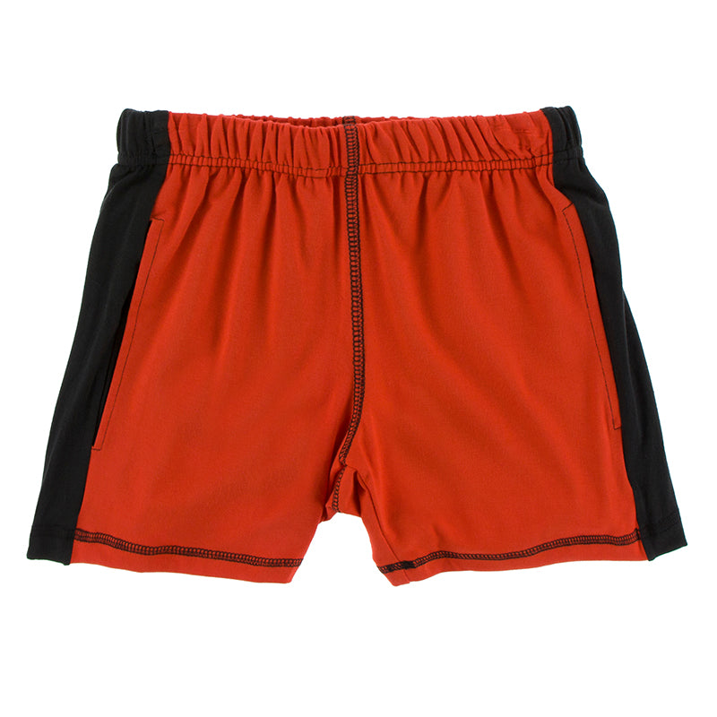 Kickee Pants Solid Performance Jersey Sport Short
