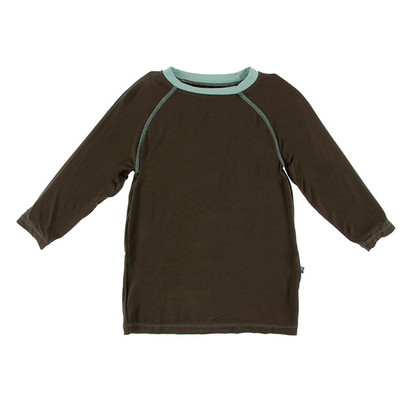 Kickee Pants Kid's Solid Long Sleeve Sport Tee